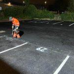line marking contractors Leeds