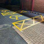 professional line marking Leeds
